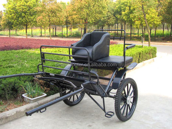 Two wheel horse cart and wagon