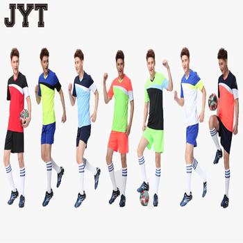 a9f4ab718 China Custom Wholesale Plain Sublimation Polyester Football Jerseys  Guangzhou Factory