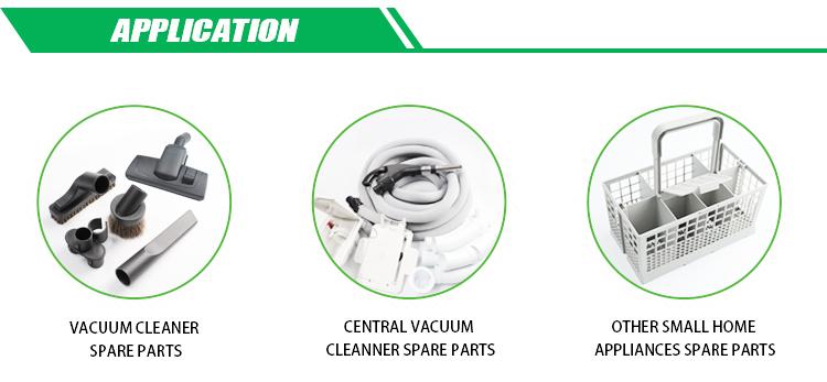 Alluminio tubo telescopico vacuum cleaner parts