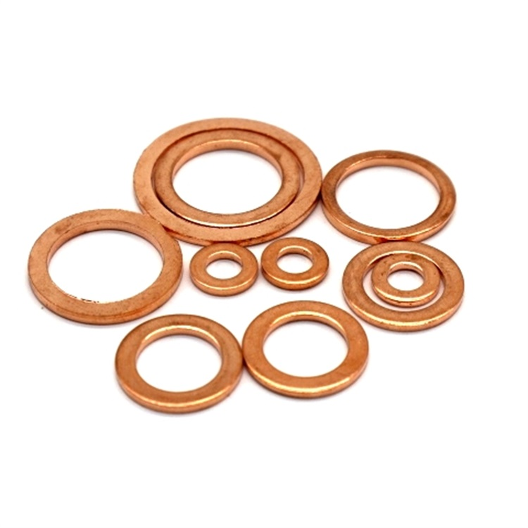 Copper Seal Fibre Washers For Screw And Bolt - Buy Copper Aluminum  Washer,Carriage Bolt Washer,Vegetable Washer Product on Alibaba com