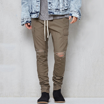 release info on new lower prices excellent quality 2018 Latest Military Style Drop Skinny Destroyed Cargo Blank Jogger Pants  Men Sweatpants - Buy Military Style Cargo Pants,Jogger Pants Men ...