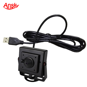 USB 2.0 Webcam Mini Pinhole Bullet OEM Cable Length PC ATM USB Camera