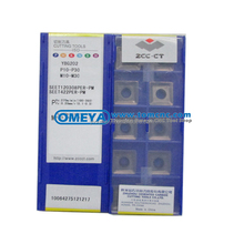 ZCCCT diamond tool milling inserts SEET120308PER-PR YBG202 made in China