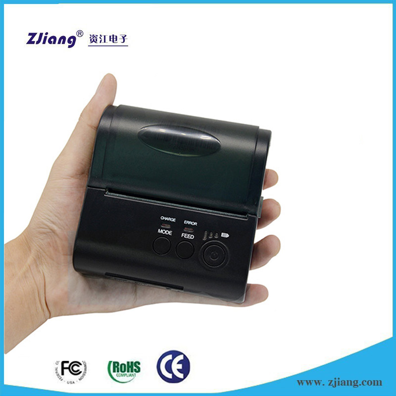 Android mini portable thermal bluetooth printer for windows/android/ios smart phones and laptop 8001