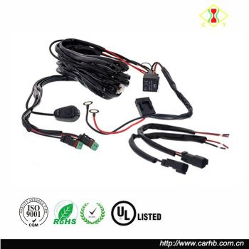 High Quality Led Light Bar Wire Harness_350x350 high quality led light bar wire harness with relay & on off switch led light bar wire harness at bayanpartner.co