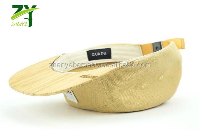 e61eb48158502f Hot Fashion Products!!! Zy-815 Bamboo Brim Snapback Cap Snap Cap Eco ...