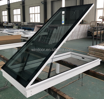 Factory price Manual open skylight with Low-E glass roof skylight window skylight factory