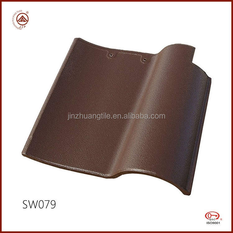 Newly Nature Glazed Clay Roofing Tiles Price Spanish S Type Roof Tiles
