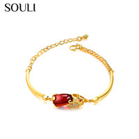 2018 Costume Jewelry Crystal Charm Bracelet