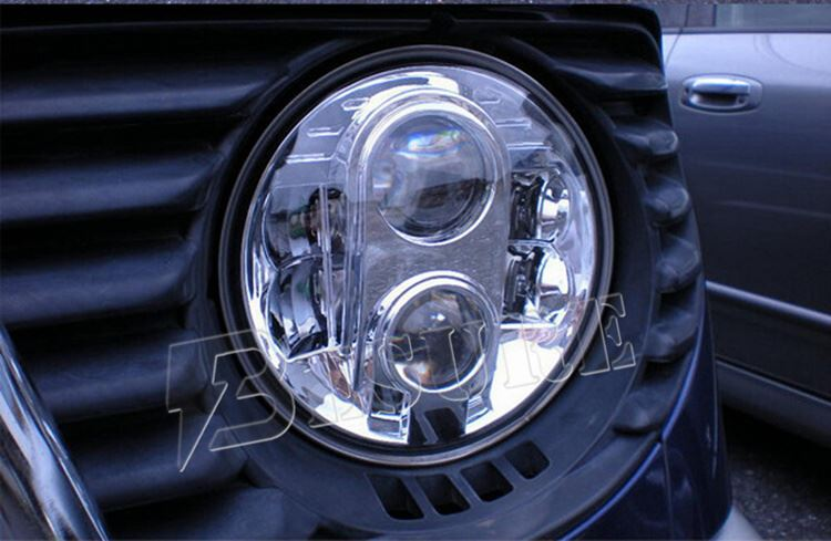 "Wholesale DOT E13 Approved H4 7 Inch Round LED Headlight 12V 24V 7"" Auto LED Head Lamp For Jeep Wrangler"