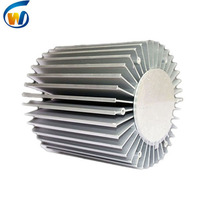 led aluminum fins extruded heat sink profiles