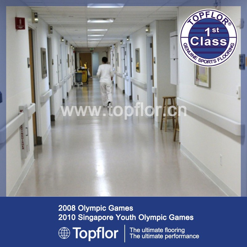 Operating Room Floor/Hospital Viny Flooring Rolls