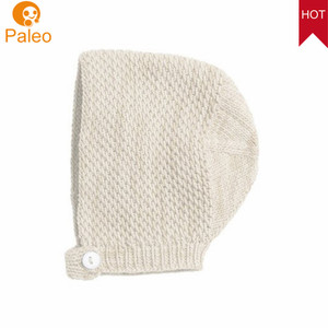 OEM ODM Factory 100% cotton material fashionable hottest baby lovely born baby bonnet