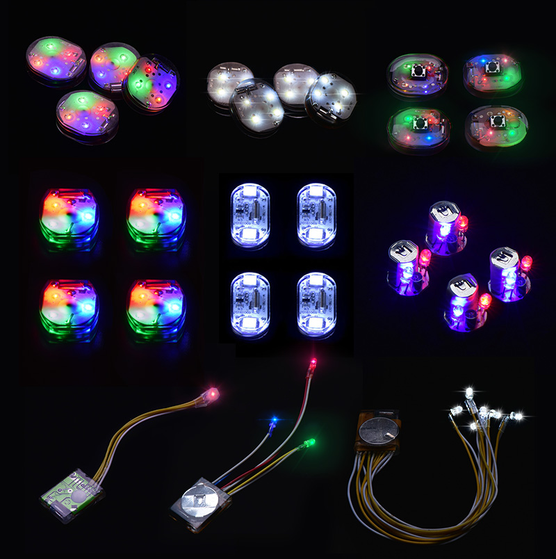 Battery Operated Mini Led Lights For Clothing Decoration Design