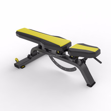 Adjustable bench DFT-639 commerical Gym fitness equipment/exercise rowing machine