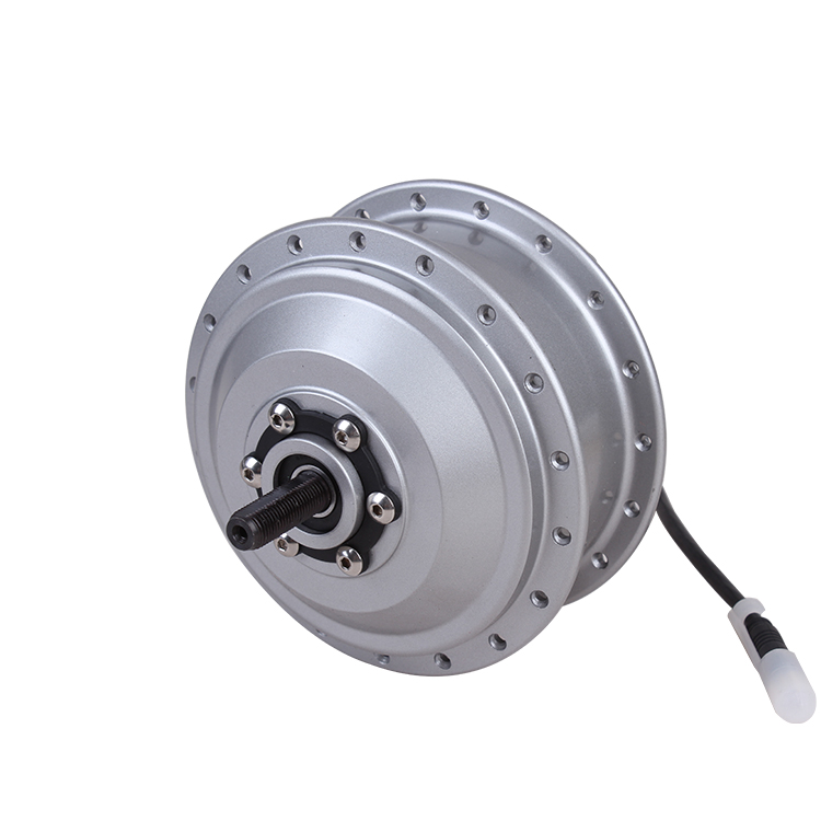 Permanent magnetic sine wave controller wheel hub motor