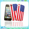 2014 hot waterproof silicone phone case for iphone 5 5s
