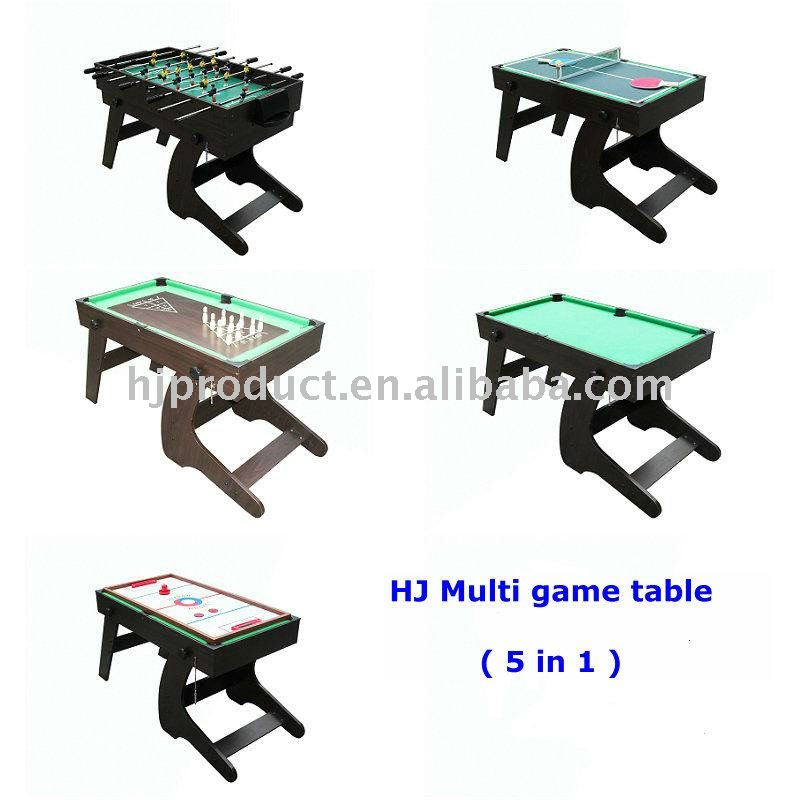 5 In 1 Multi Game Table, 5 In 1 Multi Game Table Suppliers And  Manufacturers At Alibaba.com