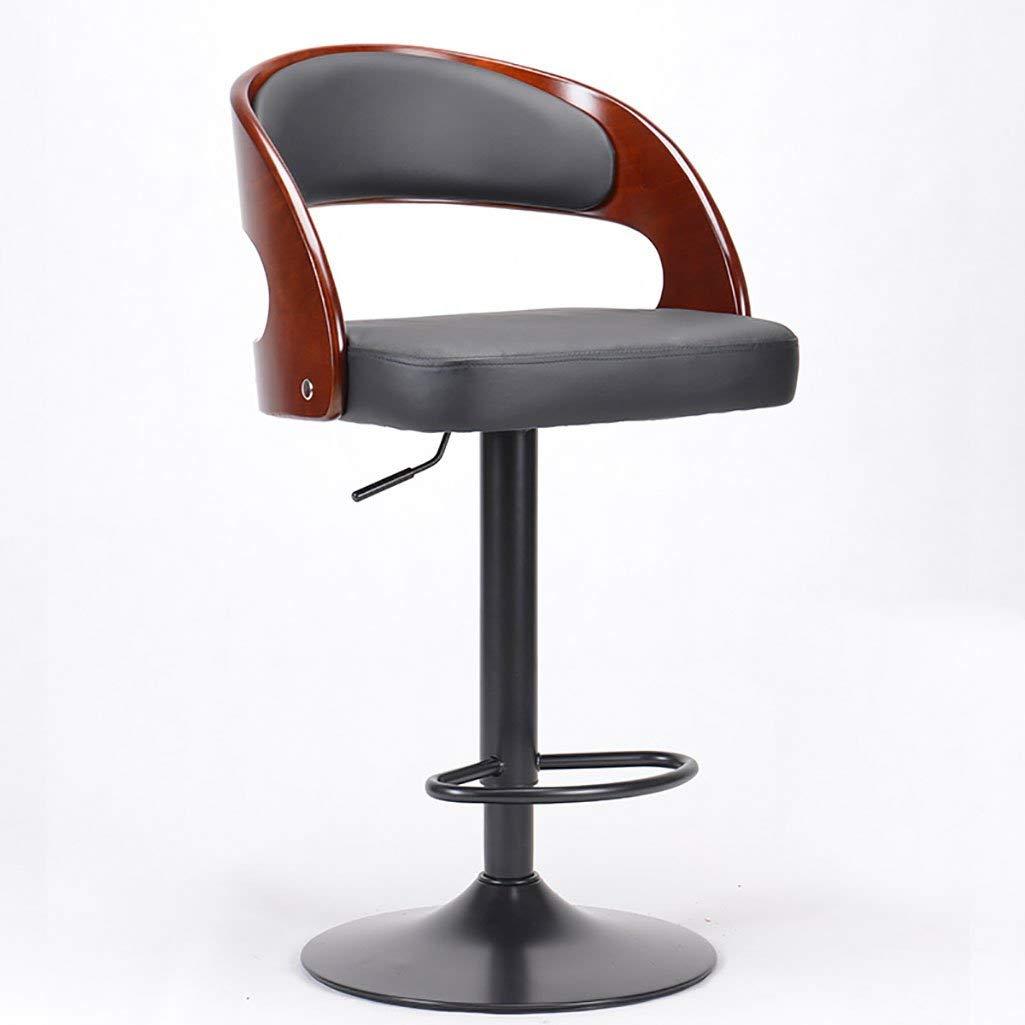 AIDELAI Stool American Bar Stool Bar Chair Fashion European Lift Chair Bar Stool Bar Stool High Stool Saddle Seat ( Color : B )