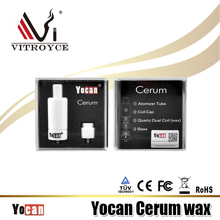2017 Fast shipping Original products full ceramic atomizer Yocan Cerum wax atomizer with Chinese wholesale Factory prices!!