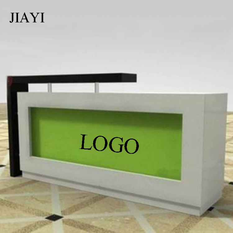 Customized newly wooden reception desk for office reception furniture