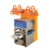 Full automatic commercial boba tea clear cup sealing machine