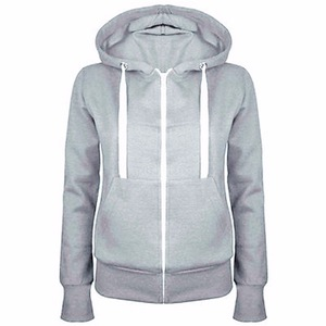 China factory OEM for zip blank hoodie