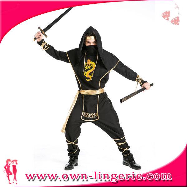 Masculino cosplay en japon película anime ninja cosplay traje de uniforme
