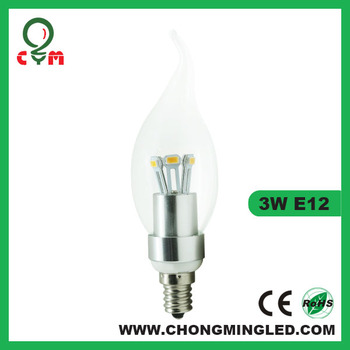 3w Candelabra E12 Type B Light Bulb