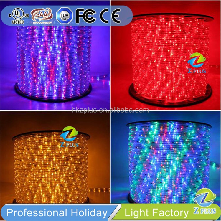 CE approved outdoor LED lamp rope lamp