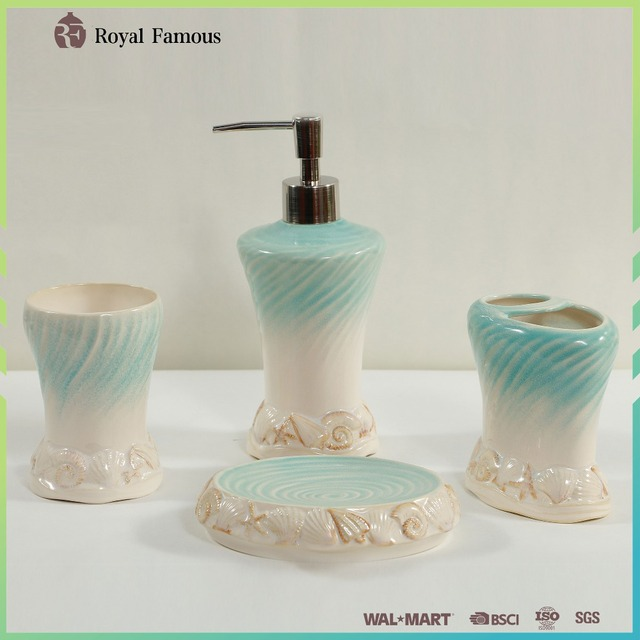 Chinese Supplier Ceramic Bathroom Accessories Sets