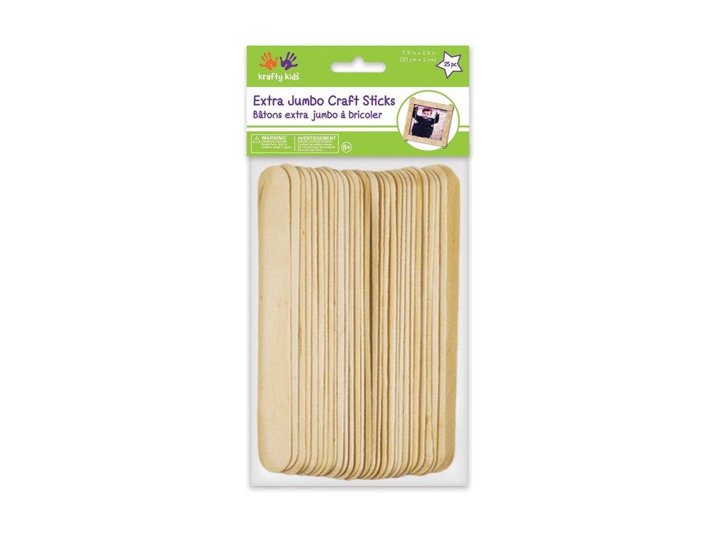 3-1//2-Inch 750-Piece Loew Cornell 1021222 Woodsies Craft Sticks