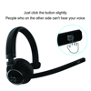 Office Call Center wireless headwearing headset, bluetooth stereo headest, Mono Bluetooth Headset for computer