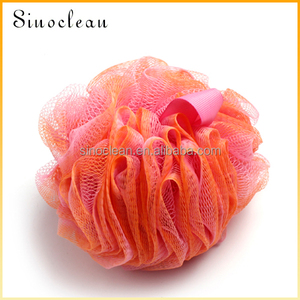 orange bath sponge natural color shower bath sponge foam bath products