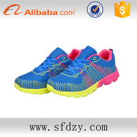 OEM supply type China wholesale lady's sport shoes 2016