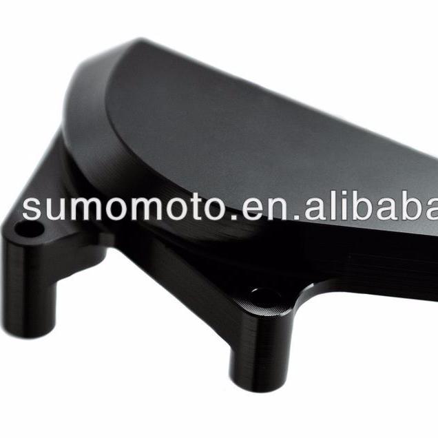 "Black 48mm CNC 1/"" Riser Clip-On Handlebar Honda CBR600RR//F5 05-06 CBR600RR 07-14"