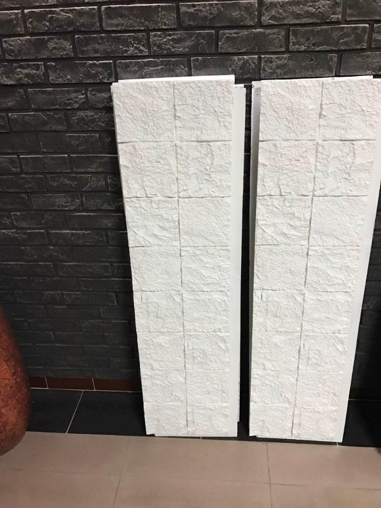 Polyurethane Beauty Cheap Decorative Wall Panel PU white faux brick wall panels