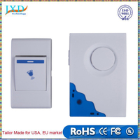 Mini Remote Control Wireless Chime Doorbell 36 Tune Songs Bell Doorbell For Home Office