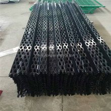 Black power coated Aluminium hexagonal Perforated Sheet Curtain Wall mesh