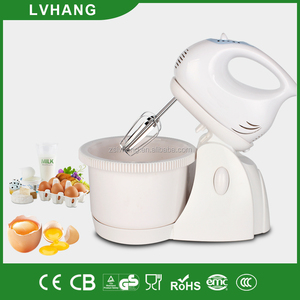 super power plastic electric table food mixer with rotating bowl CE ROHS