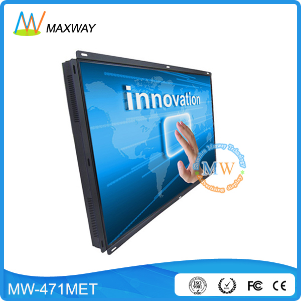 open frame 47 inch touch screen monitor with Infrared/IR/Nano touch optional