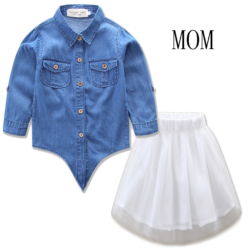 2017 Summer Parents and Children Outfit family matching mother daughter set mom and daughter dress Mom And Kids outfits H00169