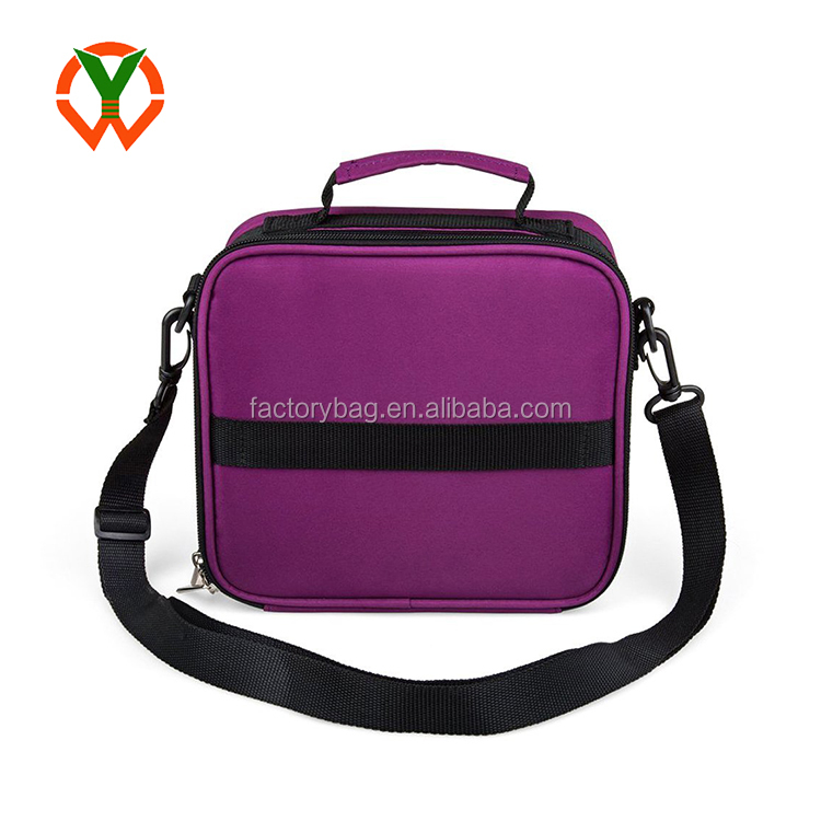 Soft Carrier Bag Shoulder Style Essential Oil Carrying Case With Foam (YCCO)