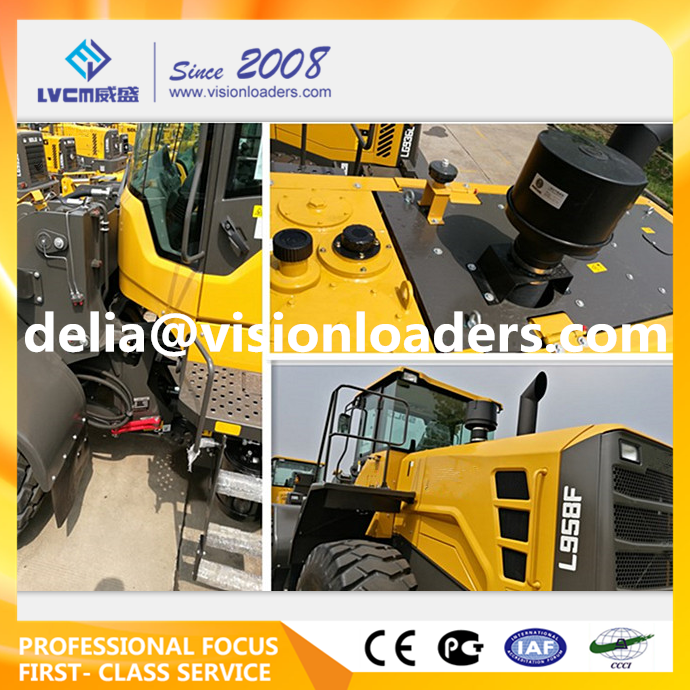 Hot Sale L958F, 5t Wheel Loader L953F L955F L956F L958F Shovels Made in China