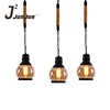 Restaurant bars hotel nordic lighting lamps glass vintage industrial lamp