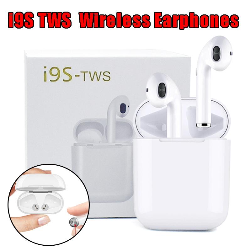 I9s i7s tws earphones Wireless earphones Wireless Headsets Earbuds BT 5.0 earpieces For iPhone earphones фото