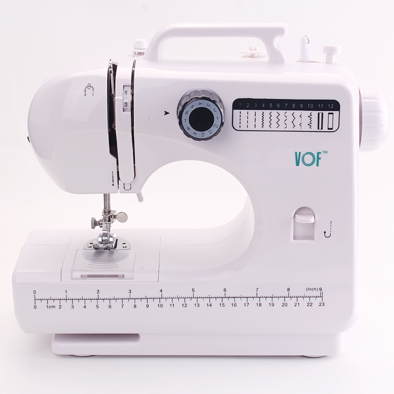 Best Brand Multi-function Battery Powered Sewing Patterns Portable Mini Sewing Machine with Foot Pedal VOF FHSM-506