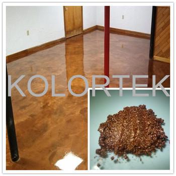 Kolortek Metallic Epoxidharz Bodenbelag 3d Metallic Epoxy