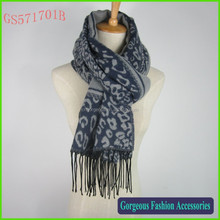 High fashion leopard women scarf and shawl