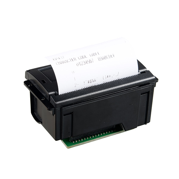 CSN-A3 58mm 5-9V/12V embedded direct thermal panel mount printer with RS232/TTL/USB
